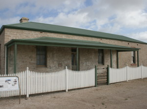The old telegraph station at Fowlers Bay.