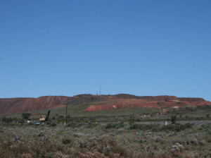 Iron Knob, about 85kms east of Kimba.