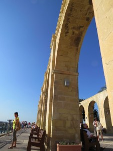 Tall arches casting surprisingly adequate shadows