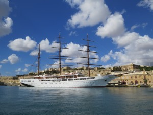 Grand Harbour: Sea Cloud II