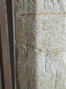 Crusaders' crosses.